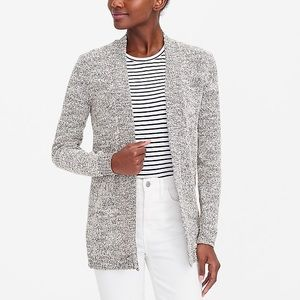 J.crew Marled-cotton open sweater size Small